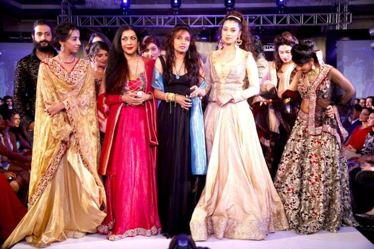 banglore fashion week grand finale by Sanjana Jon