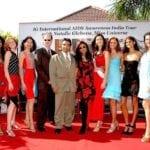 Miss Universe AIDS Awareness Tour to India