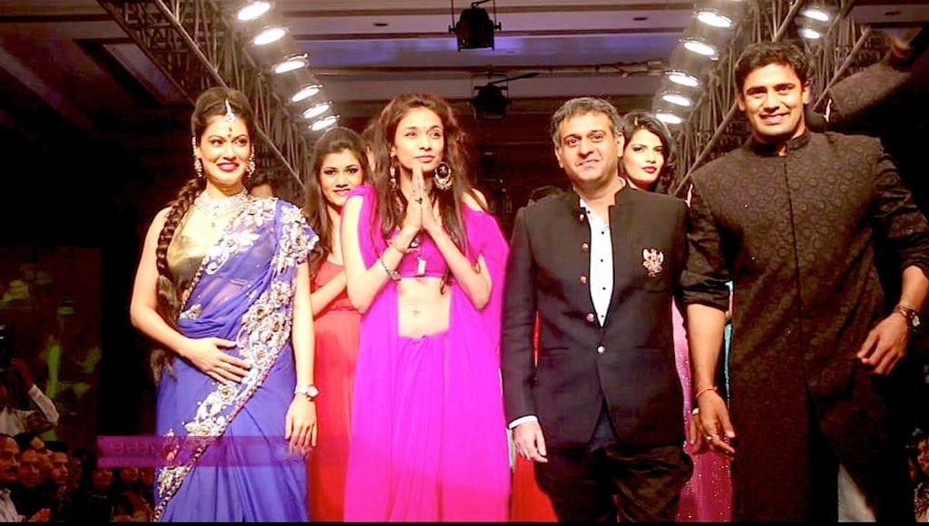 Indore Fashion Week by Dr.Sanjana Jon