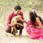 Shankar Sahney Sanjana Jon Photo Shoot For Paws For A Cause